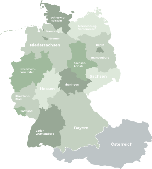 Germany federal states